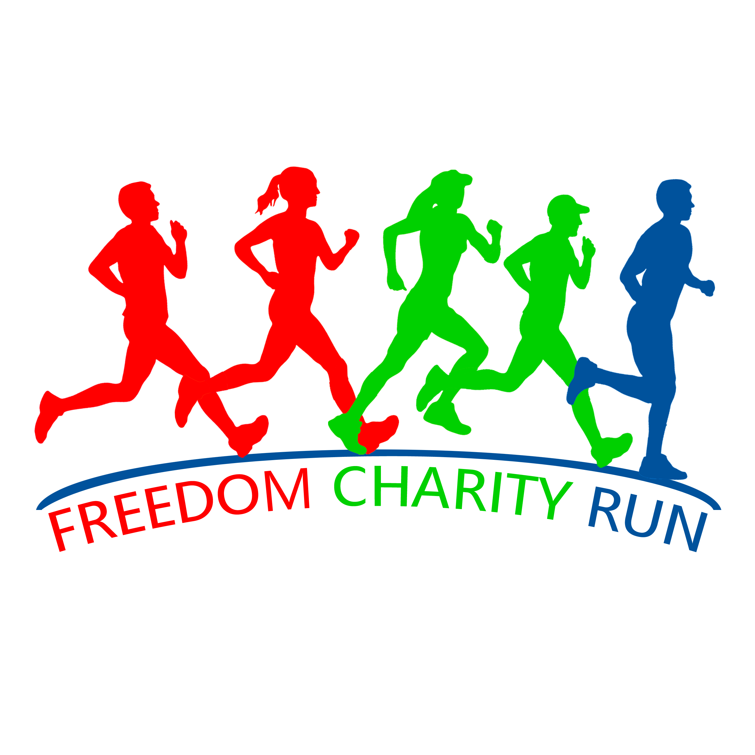 Freedom charity run