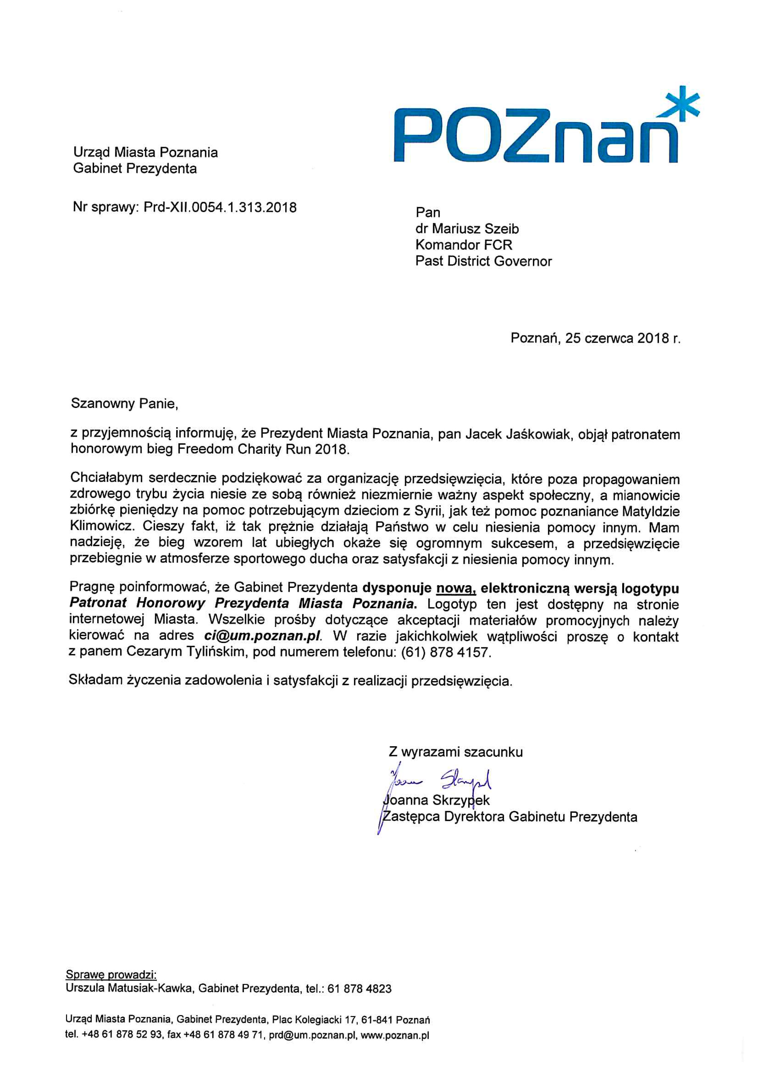 Patronat prezM_poznan